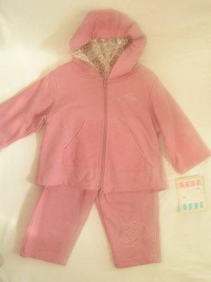 Pink Baby Sweat Suit Set