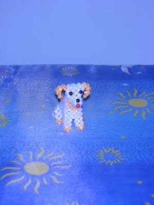 Little Doggie II - White & Yellow (D.I.Y)