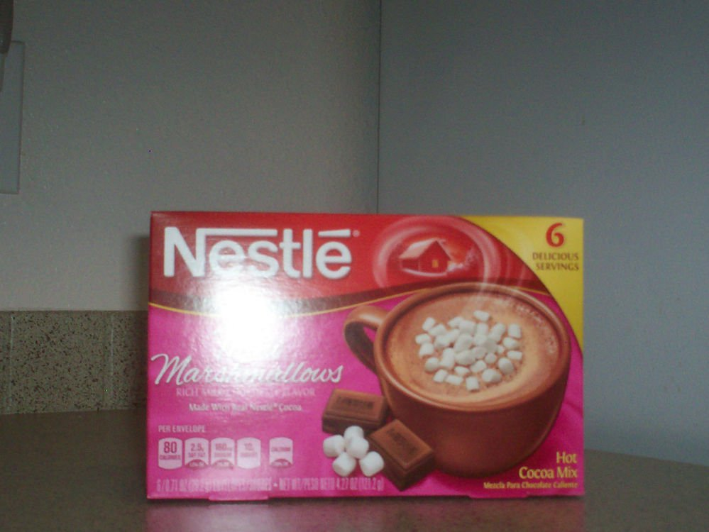 $0 USA Shipping With Nestle Hot Cocoa Marshmellows Beverage 6 Individual Packets