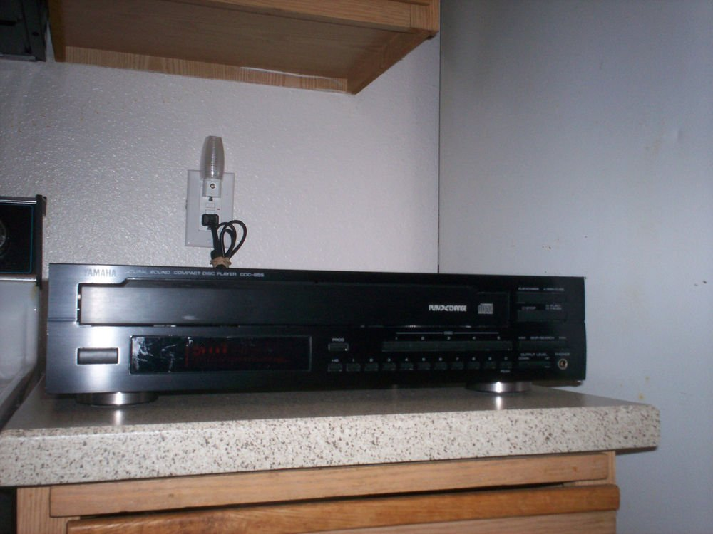 $0 USA Shipping With Yamaha CDC-655 5 CD Player W/PlayXchange/Optical & L/R Jack