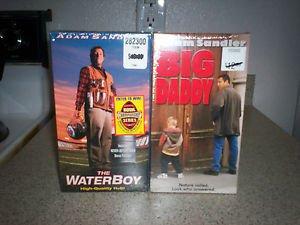 $0-Ship With New Sealed Adams Sandlers The Waterboy W/ Bonus Footage & Big Daddy