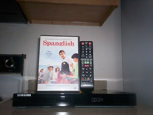 Tefurbished SamSung BD-FM59C 3D Blu-Ray Player With Remote & 1  DVD Movie