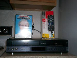 Refurbished Toshiba SD-K200 VCR/DVD Combo Player With 3-1 Remote & 1 Movies
