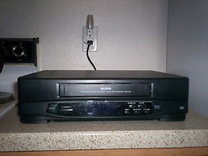 $0 Fast Shipping With Refurbished Sanyo VWM-240 VCR W/Trilingual Screen Program