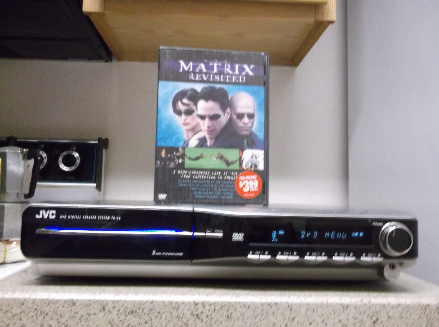 Refurbished  JVC XV-TH66 1000W 5.1 Receiver DVD Player Only With FM Radio & DVD