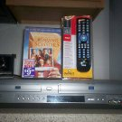 $0 Shipping With Samsung DVD-V3650 VCR/DVD Combo Player W/ 4-1 Remote & 1 Movie