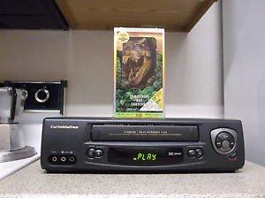 Refurbished Curtis Mathes CMV-41001 4 19U Heads VCR W/ Speed Rewind & Movie Tape