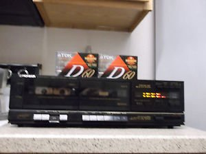 Refurbished Pioneer CT-980W Stereo Cassette Dolby B & C NR Synchro Deck & 2 Tape