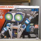 New Meccano Tech MeccaNoid 2.0 Personal Robot 2 Ft. Bluetooth Robotic Toy