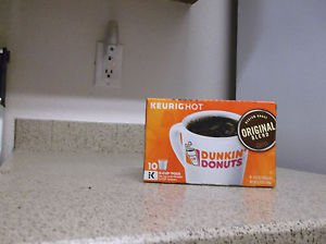 $0 Shipping With Dunkin Donuts Original Blend Coffee 10 K Cups Expire 02/21/2018