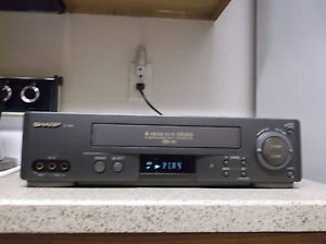 Refurbished Sharp VC-HR273 4 19U Heads VCR With Menu Set Button & Mult-Language