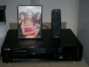 Refurbished Toshiba SD-3109U DVD Player With 1 DVD Movie & OEM Remote Control