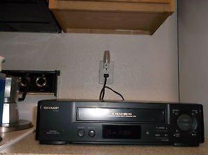 $0-Ship W/Refurbished Sharp HR-V573 4 19U Head VCR W/Menu Button & S. Picture