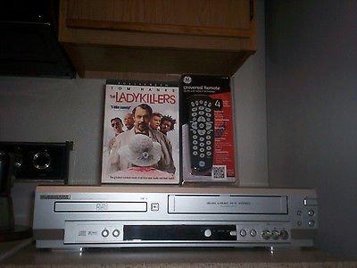 $0 Shipping With Sylvania SRD3900 HIFI VCR/DVD Player W/ 4 - 1 Remote & 1 Movie