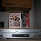$0 Shipping With Sylvania SRD3900 HIFI VCR/DVD Player W/ 4 - 1 Remote & 1 Movie