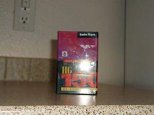 $0 Ship W/Lot of 2 Radio Shack 8MM HG150 Digital Camcorder 150 SP 300 LP Minutes