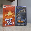 The Angry Red Planet & The Black Hole VHS Clam Shell Classic Horrific Thrillers