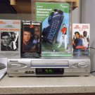 Refurbished Panasonic PV-V4612S 19U 4 Heads VCR With 3 - 1 Remote & 3 VHS Movies