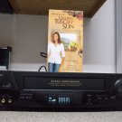Refurbished Sharp VC-A412U  4 Head VCR With Sharp Super Picture  &  VHS Movie