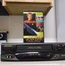 Refurbished Sansui VHR 6010 4 Head VCR W/ Auto Programming & Star Trek Voyager
