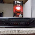 Refurbished Zenith Allegro AL94010 4 Head VCR W/ Auto Head Cleaner & 6 Hour Tape
