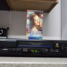 Refurbished Panasonic PV-V4601 19U 4 Heads VCR With OmniVision & 1 VHS Movie