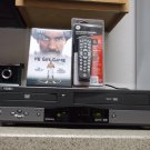 Refurbished Go Video DVR-4000 VCR/DVD Combo Player With 4-1 Remote & 1 DVD Movie