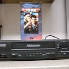 Refurbished Sylvania 6240VB VCR With Menu - Tape Speed Button & Top Gun Movie