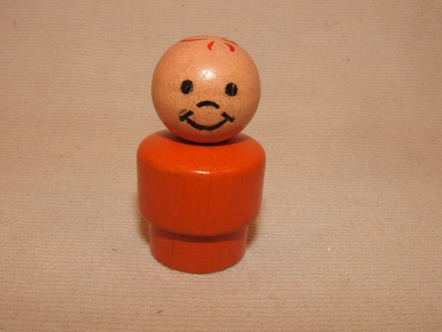 All Wood Orange Boy