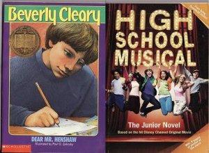 Book Lot High School Musical-Dear Mr. Henshaw NEW
