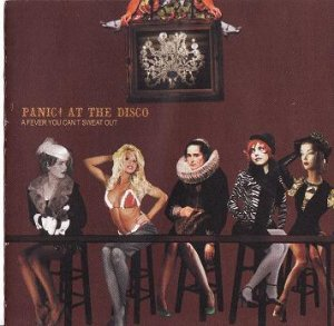 Panic! At The Disco A Fever You Can't Sweat Out CD Like-New
