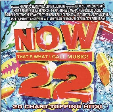 Now 22 CD Beyonce The Fray Kelly Clarkson Nickleback Like-New