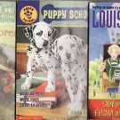 Three Book Lot-Sideways Stories From Wayside School-Rain Forests-Puppy School