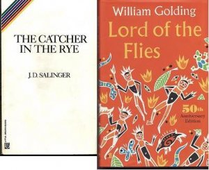 Classic Book Lot The Catcher In The Rye-Lord of the Flies New William Golding J.D. Salinger