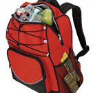 RED BLACK Ultimate Fishing Hiking camping 20 can no leak backpack cooler
