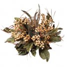 Feather & Berry Candelabrum