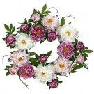 "22"" Peony Wreath"