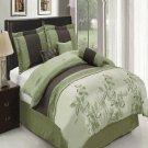 Pasadena Sage 11-Piece Bed in a Bag Queen