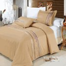 Cecilia Egyptian cotton Embroidered Duvet Cover Set Full/Queen