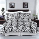Zebra 100% Egyptian cotton Duvet cover set King/Cal King