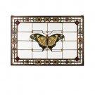 "Meyda Tiffany 41""W X 28""H Victorian Butterfly Stained Glass Window"