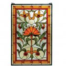 """20""""W X 30""""H Picadilly Stained Glass Window"""