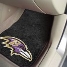 NFL -Baltimore Ravens 2 pc Carpeted Floor mats