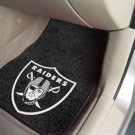NFL Oakland Raiders2 pc Carpeted Floor mats