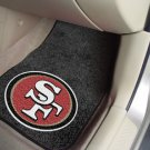 NFL San Francisco 49ers 2 pc Carpeted Floor mats
