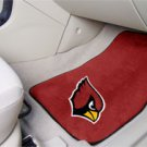 NFL Arizona Cardinals 2 pc Carpeted Floor mats