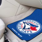 MLB- Toronto Blue Jays 2 pc Carpeted Floor mats