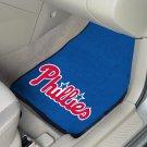 MLB- Philadelphia Phillies 2 pc Carpeted Floor mats