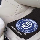 MLB- San Diego Padres 2 pc Carpeted Floor mats