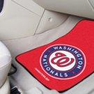 MLB- Washington Nationals 2 pc Carpeted Floor mats